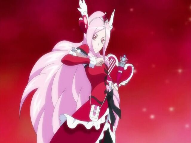File:Fresh Pretty Cure! Cure Passion with her Passion Harp.jpg