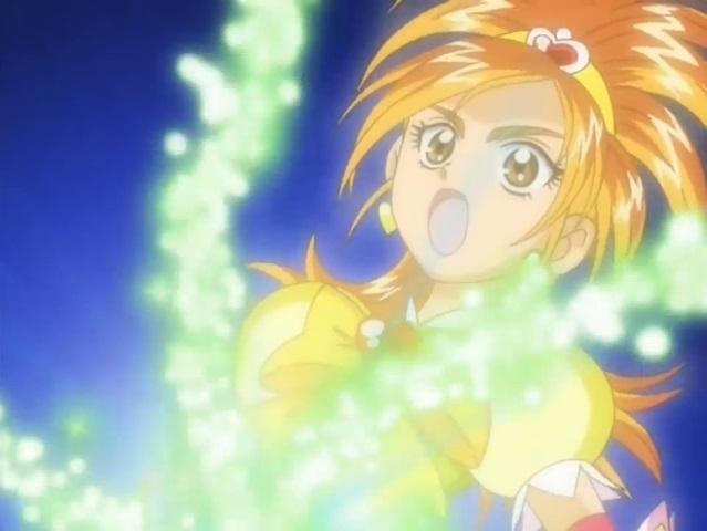 File:Futari wa Pretty Cure Splash Star Cure Bright in the Spiral Star Splash attack 2.jpg