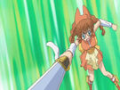 Sasami Mahou Shoujo Club Chinako using her magic2