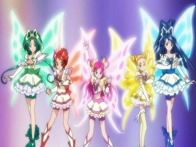 File:Yes! Pretty Cure 5 Super Pretty Cure 5 transformation pose.jpg