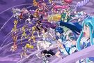 Pretty Cure All Stars DX3 All Pretty Cures famous jump