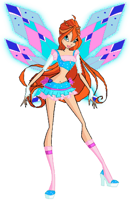 image   winx club bloom tracix pose png magical girl