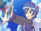 Sasami Mahou Shoujo Club Misao using her magic25