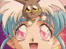 Tenchi Muyo Ryo-Ohki Mihoshi Special Pretty Sammy and Ryo-Ohki in the transformation