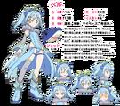 Maji de Otaku na English! Ribbon-chan Bell pose