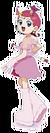 Cosmic Baton Girl Comet-san Comet pose5