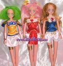 Wedding peach custom dolls by curemooncustom-d5vyd7j