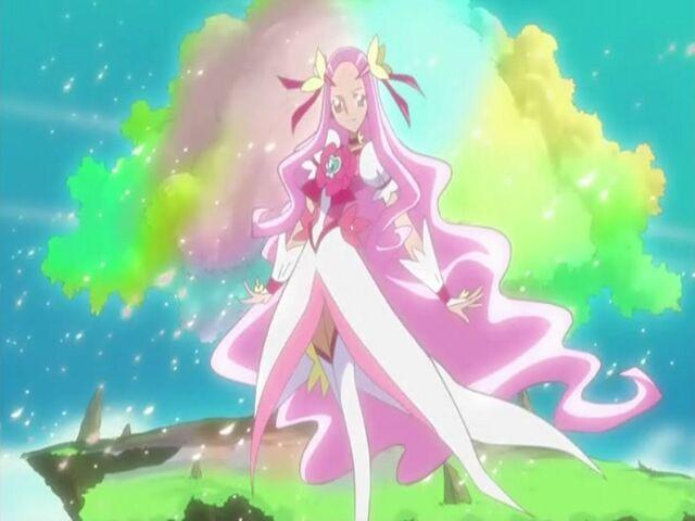 File:Heartcatch Pretty Cure! Cure Flower introduction.jpg