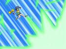 Powerpuff Girls Z Buttercup using her attack19