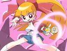 Powerpuff Girls Z Momoko in her transformation