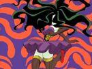 Powerpuff Girls Z Sedusa in her transformation
