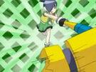 Powerpuff Girls Z Butch using Buttercup's attack