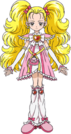 Pretty Cure Shiny Luminous pose