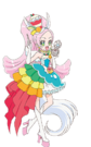 Cure Parfait with her Sweet Pact