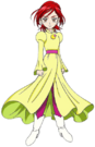 Pretty Cure Splash Star Michiru Cure Bright pose
