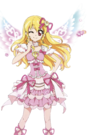 Aikatsu Ichigo angel pose