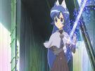 Sasami Mahou Shoujo Club Misao using her magic36