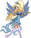 Angel's friends Raf Prisma Fly pose