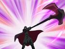Kamichama Karin Ares using an attack