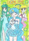Mermaid Melody- Ever Blue