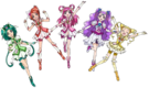 Pretty Cure 5 (no Aqua)