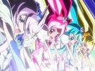 Pretty Cure All Stars New Stage Heartcatch Pretty Cures group attack