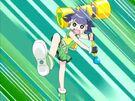 Powerpuff Girls Z Buttercup using her attack17