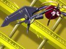 Mahou Shoujo Lyrical Nanoha Fate changing to Device Form