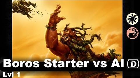 Lvl 1 Boros Starter vs AI