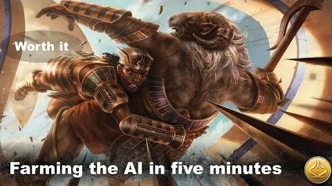 Lvl 1 Magic Duels Farming the AI in five minutes