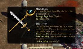 Morgul-blade StaffWar
