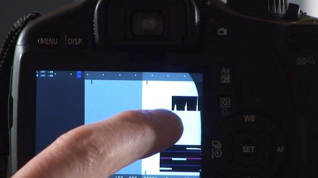 Canon T2i 550D Magic Lantern Meters Tutorial