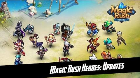Magic Rush Heroes Quick Review of New Upcomming Update Released on 17.oct.2016