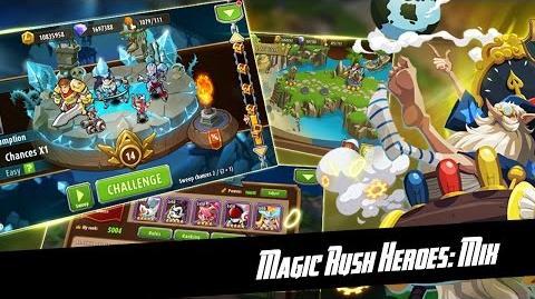 Magic Rush Heroes Captain Skill - Uther Team Shield