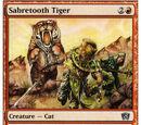 Tigre dai Denti a Sciabola (Sabretooth Tiger)