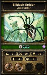 Silklash-spider
