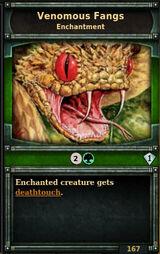 Venomous-fangs
