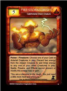 Firestorm Orish NDC