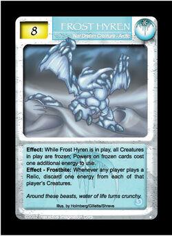 Frost Hyren VS