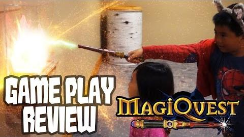 MagiQuest Game Play Review at The Great Wolf Lodge