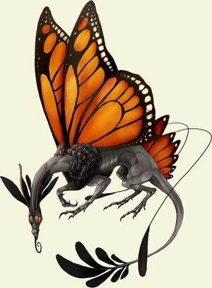 (Orange) Lunestre Dragon
