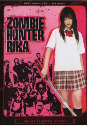 Zombie hunter rika cover