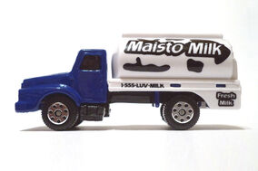 Maisto Milk Truck - 02027ff