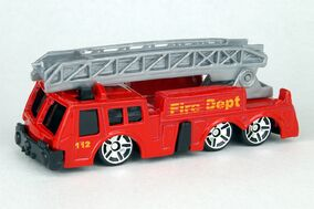 Ladder Truck Gray - 0127cf