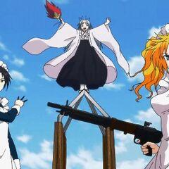 Monshiro, Jinchu and Stacy