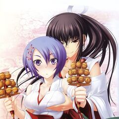 Miyako and Momoyo.