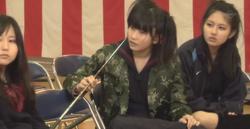 MajisukaGakuen YuiAndMina GraduationScene