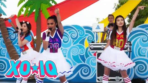 XO-IQ at the YTV Summer Beach Bash (Behind The Scenes)