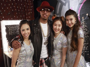 XO-IQ with Nick Cannon in Heart, Courage, and Brains (Backstage)