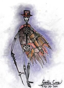 Candle cove the skin taker by whitestarcyanide-d4ija2o